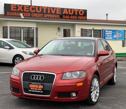 2006 Audi A3 for sale at Executive Auto in Winchester VA