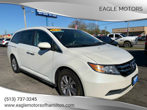 2014 Honda Odyssey for sale at Eagle Motors in Hamilton OH