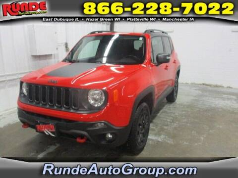 2018 Jeep Renegade for sale at Runde Chevrolet in East Dubuque IL