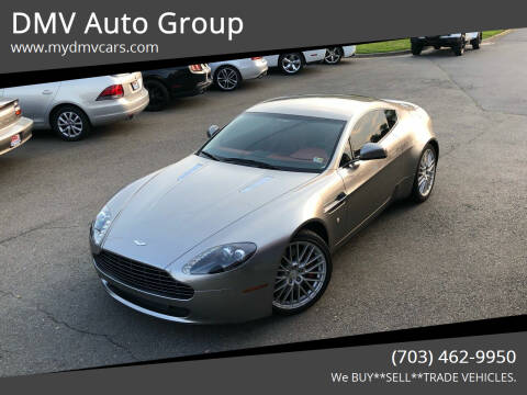 2010 Aston Martin V8 Vantage for sale at DMV Auto Group in Falls Church VA