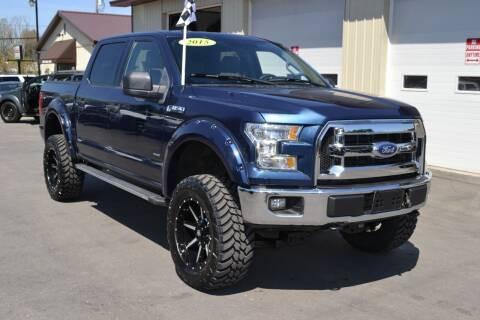 2015 Ford F-150 for sale at Nick's Motor Sales LLC in Kalkaska MI