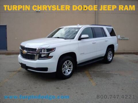 2017 Chevrolet Tahoe for sale at Turpin Dodge Chrysler Jeep Ram in Dubuque IA
