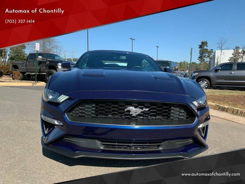 2018 Ford Mustang for sale at Automax of Chantilly in Chantilly VA
