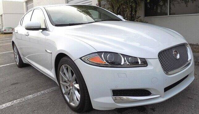 2015 Jaguar XF for sale at COOL CARS in Pompano Beach FL