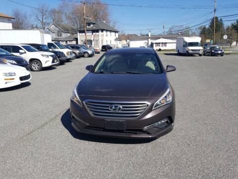 2015 Hyundai Sonata for sale at AutoConnect Motors in Kenvil NJ