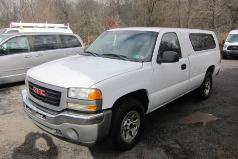 2005 GMC Sierra 1500 for sale at K & R Auto Sales,Inc in Quakertown PA