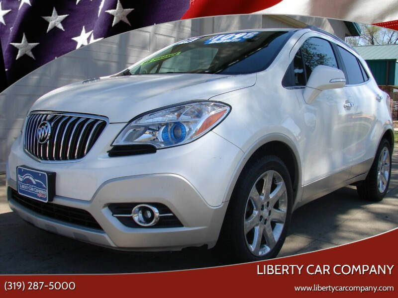 2014 Buick Encore for sale at Liberty Car Company - II in Waterloo IA