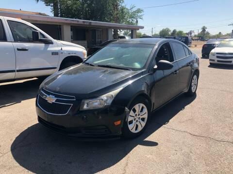 2014 Chevrolet Cruze for sale at Valley Auto Center in Phoenix AZ