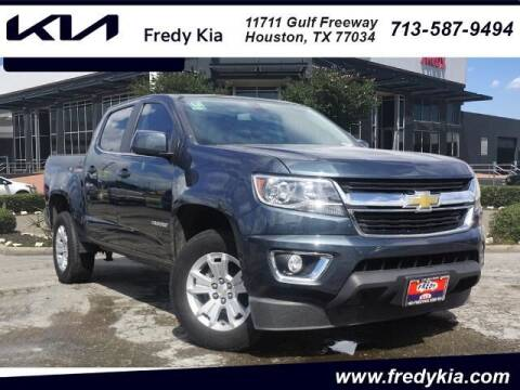 2020 Chevrolet Colorado for sale at FREDY KIA USED CARS in Houston TX