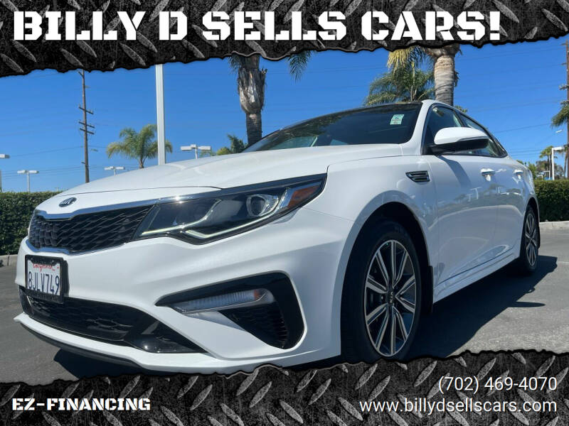 2019 Kia Optima for sale at BILLY D SELLS CARS! in Temecula CA