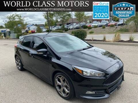 2018 Ford Focus for sale at World Class Motors LLC in Noblesville IN