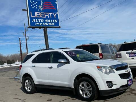 2011 Chevrolet Equinox for sale at Liberty Auto Sales in Merrill IA