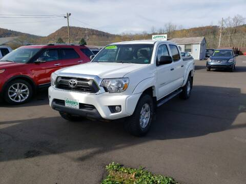 2012 Toyota Tacoma for sale at Greens Auto Mart Inc. in Wysox PA
