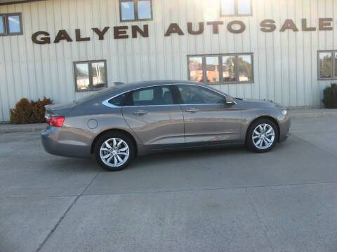 2019 Chevrolet Impala for sale at Galyen Auto Sales Inc. in Atkinson NE