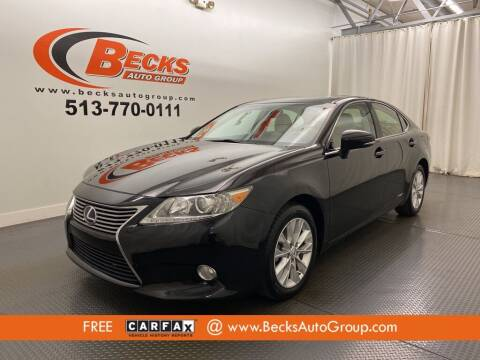 2014 Lexus ES 300h for sale at Becks Auto Group in Mason OH