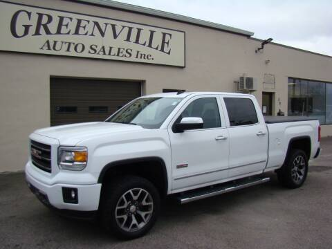 2014 GMC Sierra 1500 for sale at Greenville Auto Sales in Warwick RI
