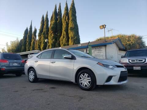 2016 Toyota Corolla for sale at LR AUTO INC in Santa Ana CA