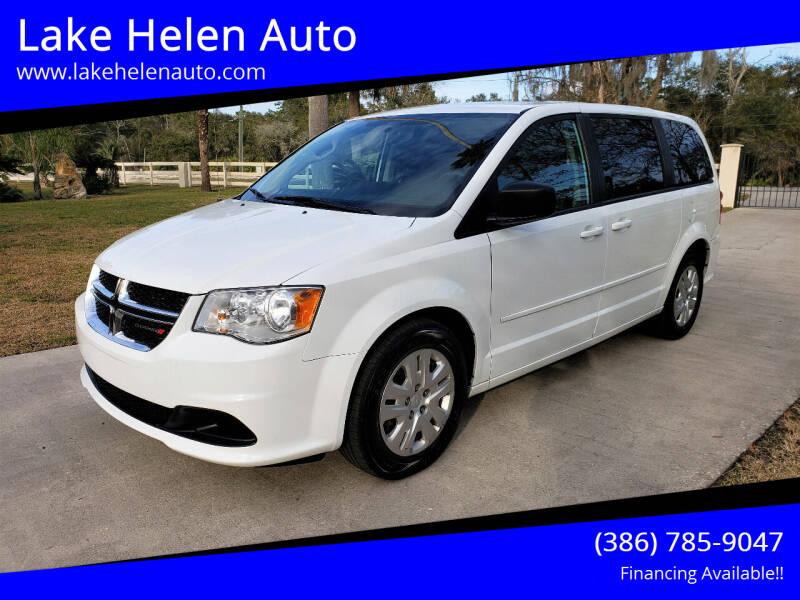 2016 Dodge Grand Caravan for sale at Lake Helen Auto in Lake Helen FL