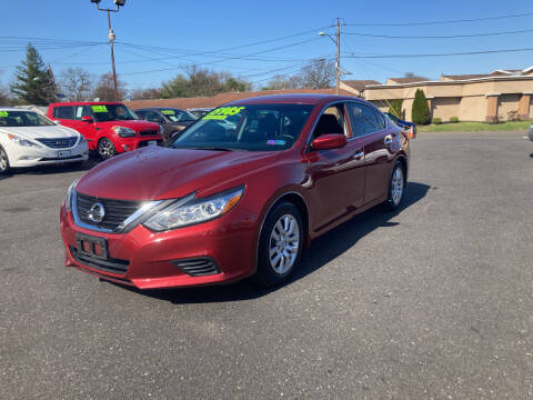 2016 Nissan Altima for sale at Majestic Automotive Group in Cinnaminson NJ