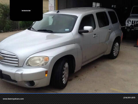2010 Chevrolet HHR for sale at Best Royal Car Sales in Dallas TX