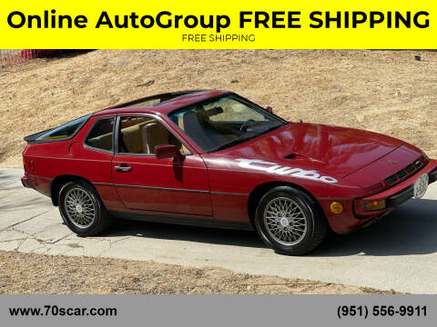 1982 Porsche 924 for sale at Online AutoGroup FREE SHIPPING in Riverside CA