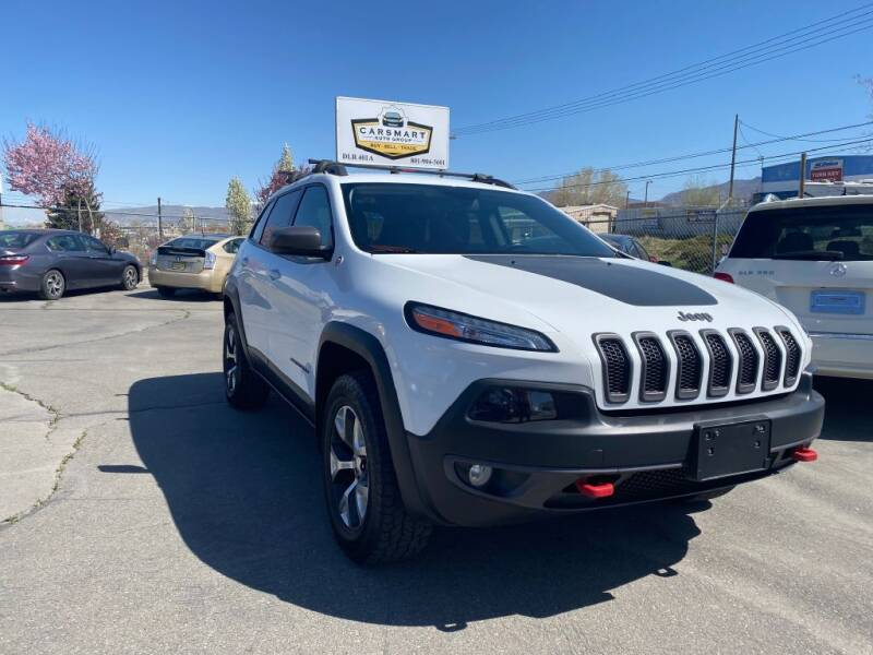 2014 Jeep Cherokee for sale at CarSmart Auto Group in Murray UT