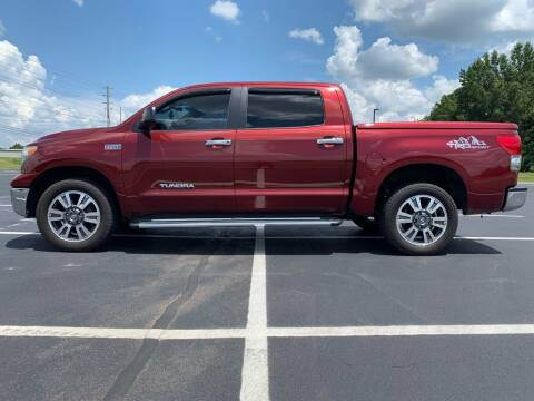 2008 Toyota Tundra for sale at Tennessee Valley Wholesale Autos LLC in Huntsville AL