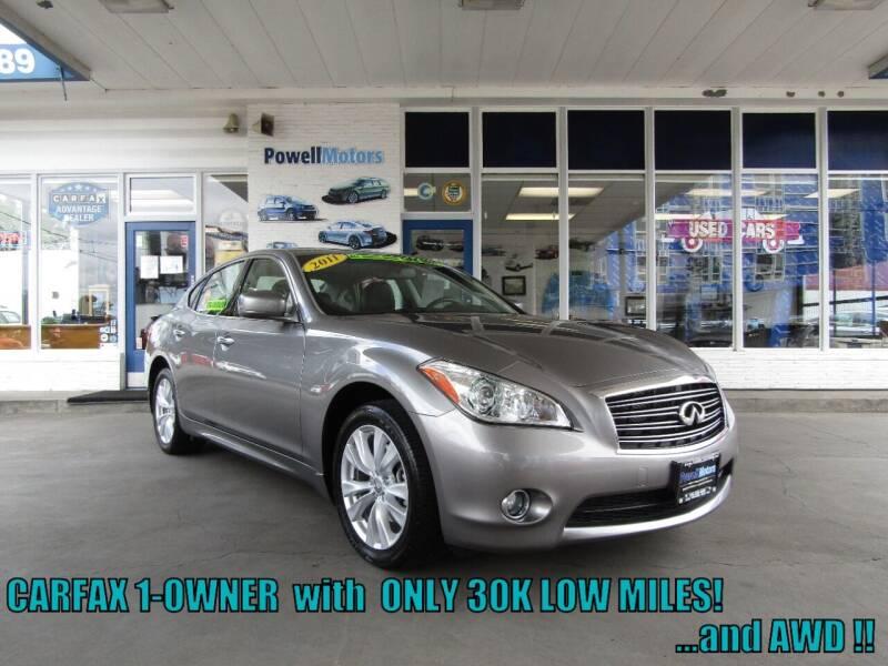 2011 Infiniti M37 for sale at Powell Motors Inc in Portland OR