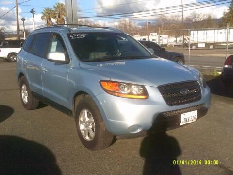 2008 Hyundai Santa Fe for sale at Mendocino Auto Auction in Ukiah CA