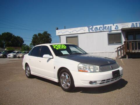 2003 Saturn L-Series for sale at Rocky's Auto Sales in Corpus Christi TX