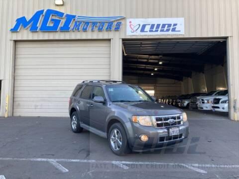 2010 Ford Escape for sale at MGI Motors in Sacramento CA