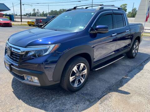 2017 Honda Ridgeline for sale at Bay Motors in Tomball TX