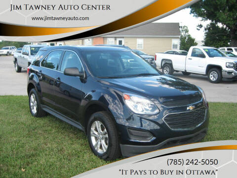 2017 Chevrolet Equinox for sale at Jim Tawney Auto Center Inc in Ottawa KS