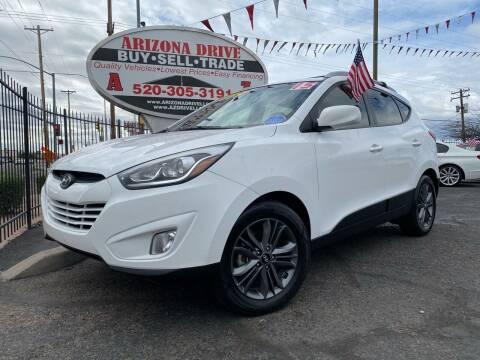 2015 Hyundai Tucson for sale at Arizona Drive LLC in Tucson AZ