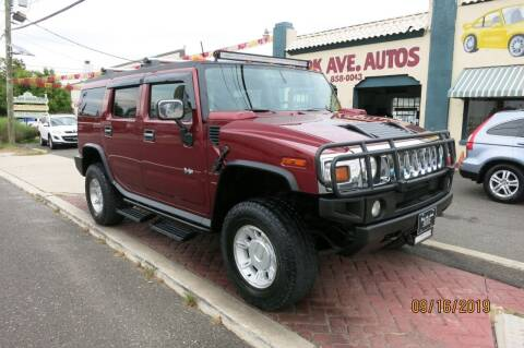 2003 HUMMER H2 for sale at PARK AVENUE AUTOS in Collingswood NJ