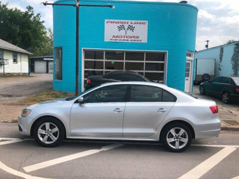 2013 Volkswagen Jetta for sale at Finish Line Motors in Tulsa OK