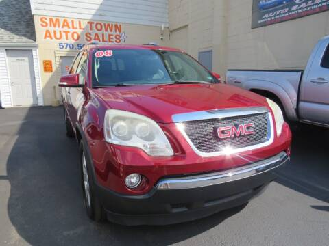 2008 GMC Acadia for sale at Small Town Auto Sales in Hazleton PA