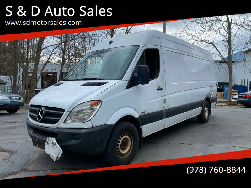 2011 Mercedes-Benz Sprinter Cargo for sale at S & D Auto Sales in Maynard MA