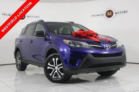 2015 Toyota RAV4 for sale at INDY'S UNLIMITED MOTORS - UNLIMITED MOTORS in Westfield IN