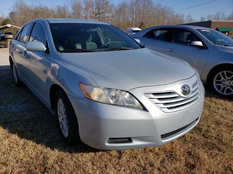 2008 Toyota Camry for sale at Scarletts Cars in Camden TN