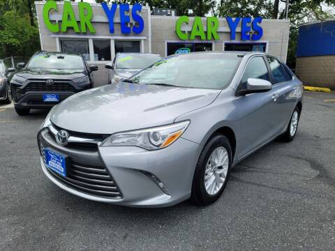 2016 Toyota Camry for sale at Car Yes Auto Sales in Baltimore MD