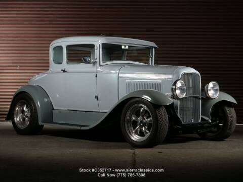 1931 Ford Model A for sale at Sierra Classics & Imports in Reno NV