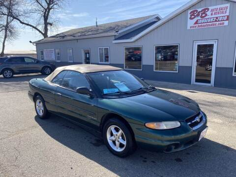 1996 Chrysler Sebring for sale at B & B Auto Sales in Brookings SD