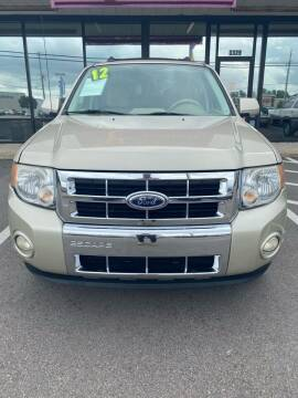 2012 Ford Escape for sale at East Carolina Auto Exchange in Greenville NC