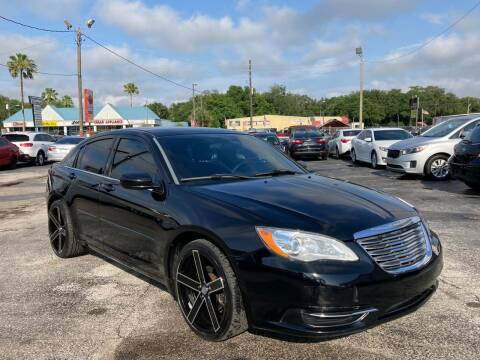 2014 Chrysler 200 for sale at Mars auto trade llc in Kissimmee FL