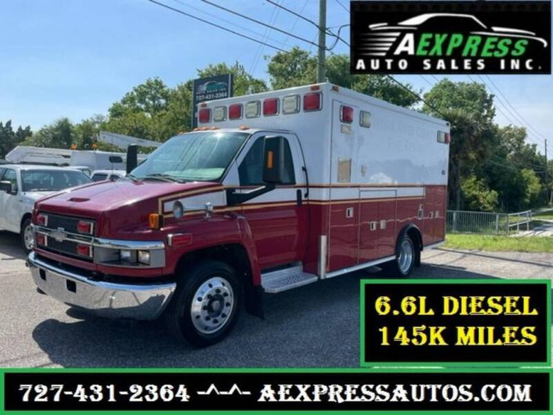 2009 Chevrolet C4500 for sale at A EXPRESS AUTO SALES INC in Tarpon Springs FL