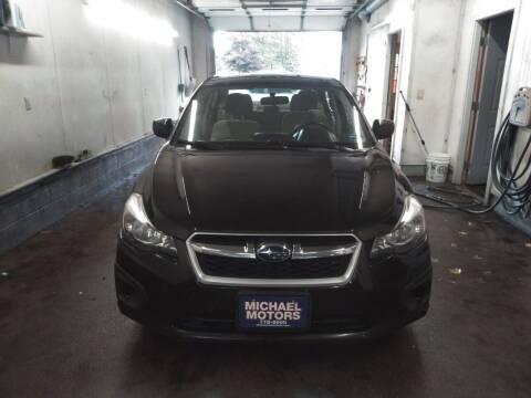 2013 Subaru Impreza for sale at MICHAEL MOTORS in Farmington ME