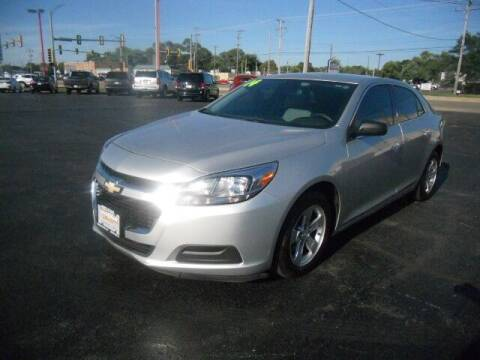 2014 Chevrolet Malibu for sale at Windsor Auto Sales in Loves Park IL