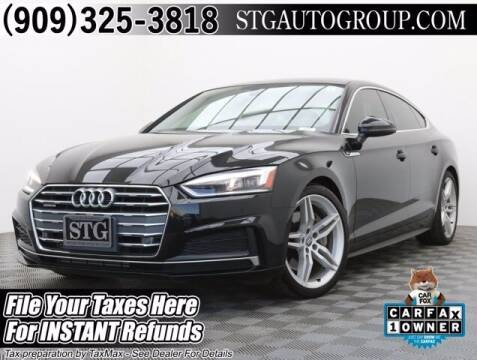 2018 Audi A5 Sportback for sale at STG Auto Group in Montclair CA