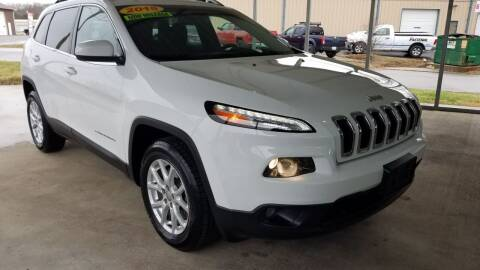 2015 Jeep Cherokee for sale at Moores Auto Sales in Greeneville TN